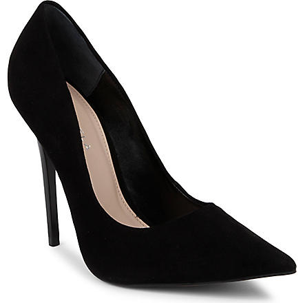 CARVELA Gilbert suede courts (Black