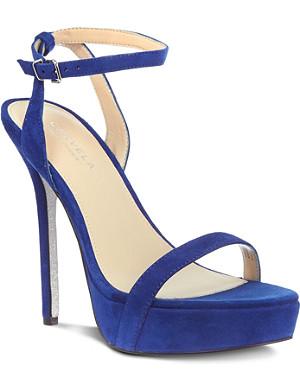 CARVELA Grape suede sandals