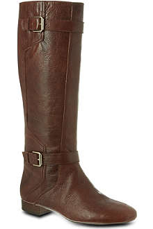 NINE WEST Punter-n leather knee-high boots