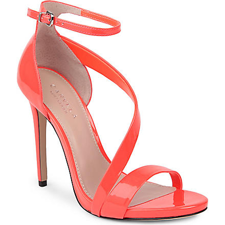 CARVELA Gosh patent sandals (Orange