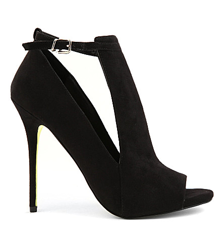 CARVELA Glance suede courts (Black