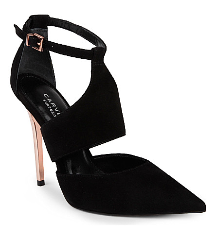 CARVELA Gang suede sandals (Black