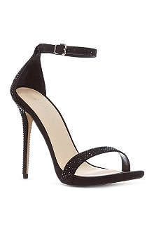 CARVELA Glacier diamanté sandals