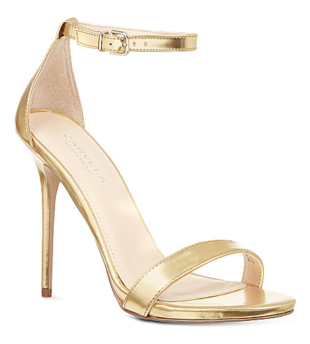 CARVELA Glacier sandals (Gold