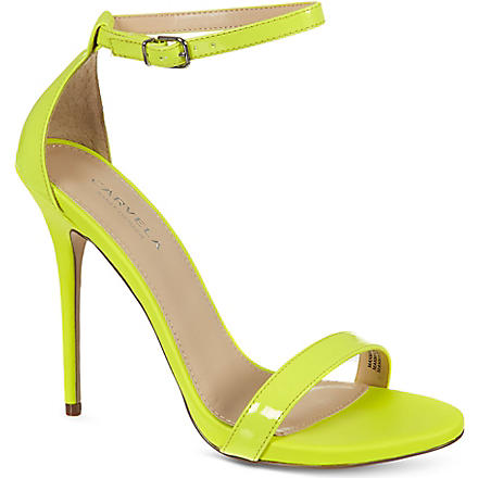 CARVELA Glacier patent sandals (Yellow