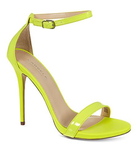 CARVELA Glacier patent sandals (Yellow