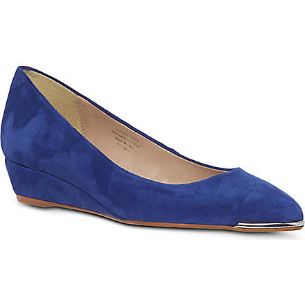 CARVELA Amber wedge pumps (Blue