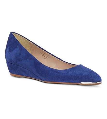 CARVELA Amber wedge pumps (Blue