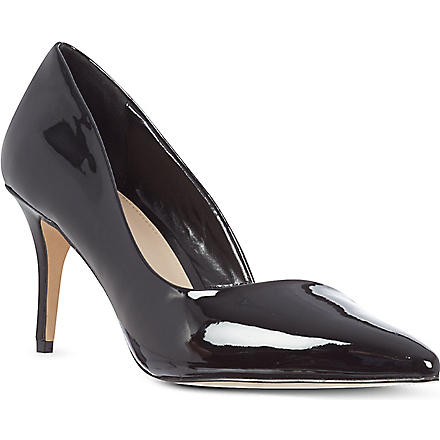 CARVELA Abyss patent court shoes (Black