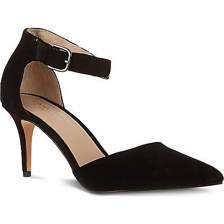 CARVELA Argue suede court shoes (Black