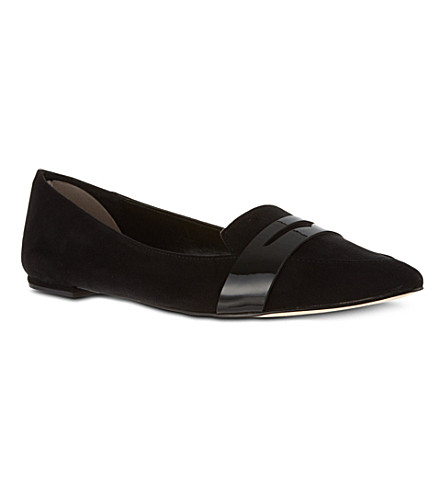 CARVELA Label suede pumps (Black