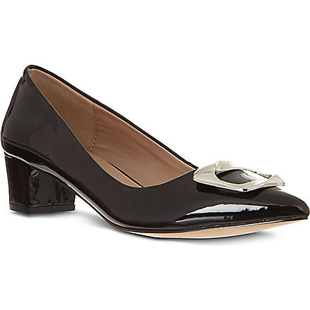 CARVELA Alpha patent court shoes (Black