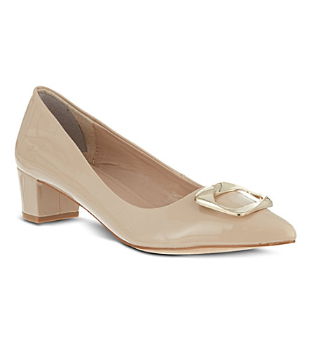 CARVELA Alpha patent court shoes (Nude