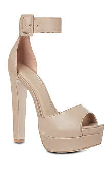 KG KURT GEIGER Halo leather platform sandals