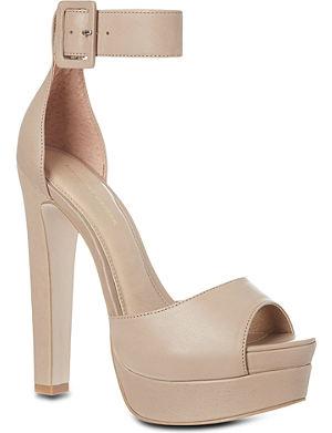 KG KURT GEIGER Halo leather platform sandals