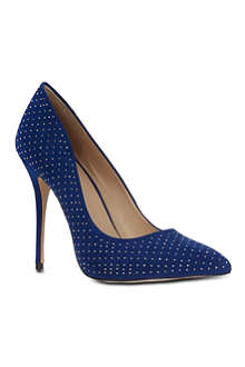 CARVELA Gun studded suede courts
