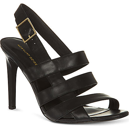 KG BY KURT GEIGER Kimberley high-heeled sandals (Black