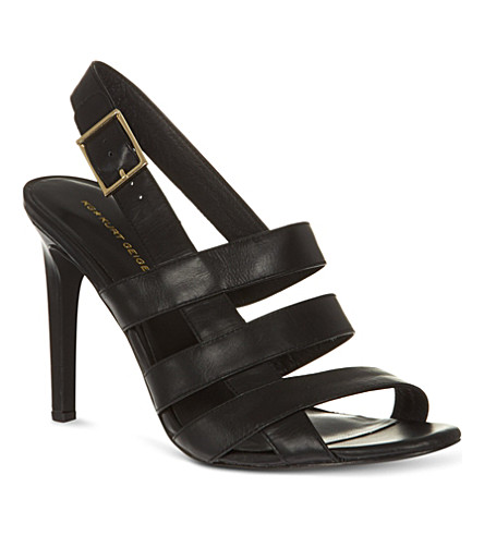 KG KURT GEIGER Kimberley high-heeled sandals (Black