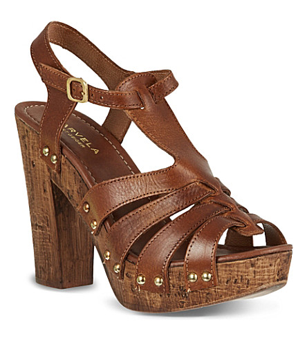 CARVELA Kimber heeled sandals (Tan