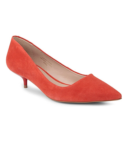 CARVELA App suede courts (Orange