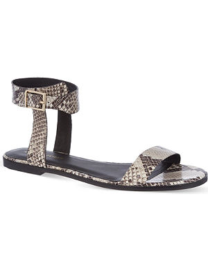 KG KURT GEIGER Maddox leather sandals