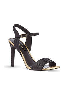 KG KURT GEIGER Jamie scaled sandals