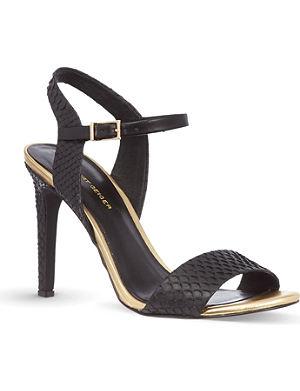 KG KURT GEIGER Jamie scaled sandals
