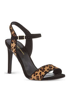 KG BY KURT GEIGER Jamie ponyskin sandals