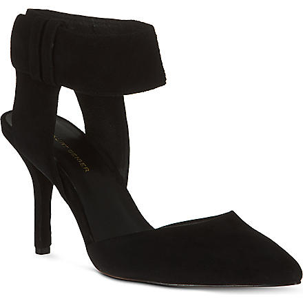 KG BY KURT GEIGER Caden suede sandals (Black