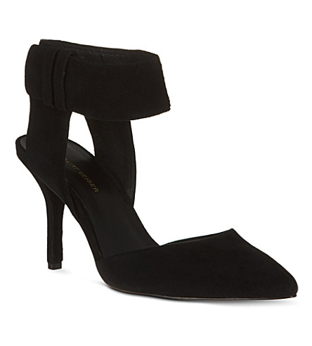 KG KURT GEIGER Caden suede sandals (Black