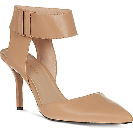 KG BY KURT GEIGER Caden leather courts (Nude