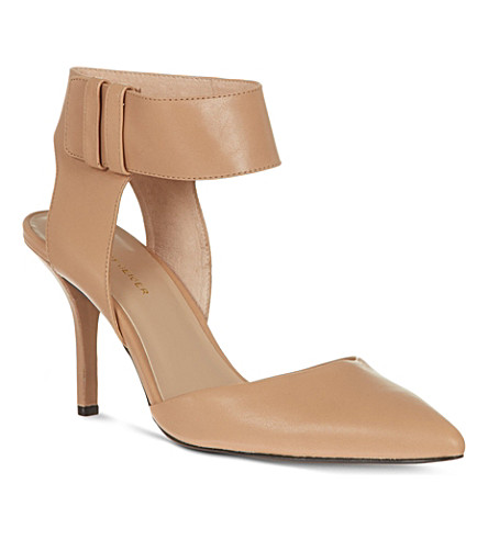KG KURT GEIGER Caden leather courts (Nude