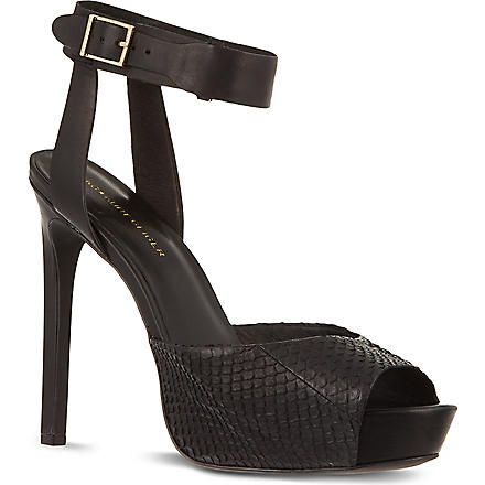 KG KURT GEIGER Hayley sandals (Black