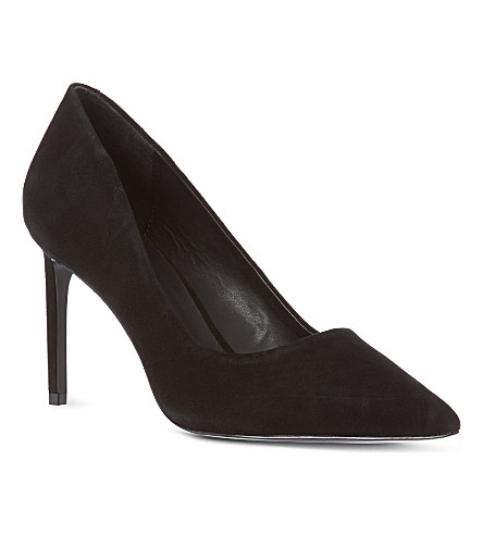 KG KURT GEIGER Bea court shoes (Black