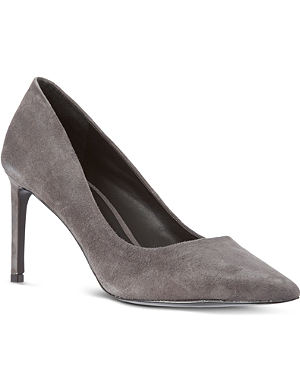 KG KURT GEIGER Bea suede court shoes