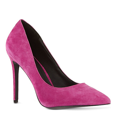 KG KURT GEIGER Bailey court shoes (Fushia