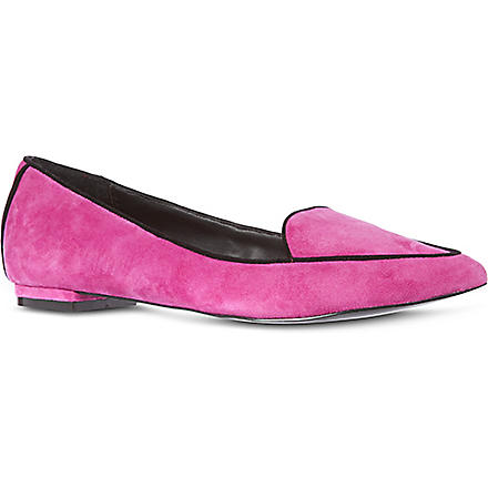 KG BY KURT GEIGER Lacey loafers (Fushia