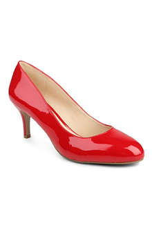 NINE WEST Applaud patent leather court shoes