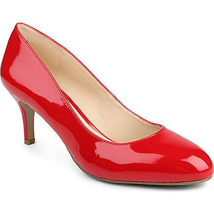 NINE WEST Applaud patent court shoes (Red