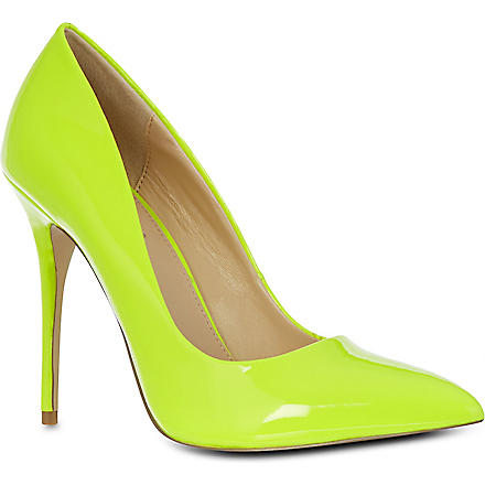 CARVELA Gunning patent leather courts (Yellow