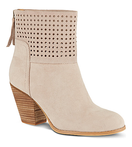 NINE WEST Hippychic suede boots (Grey