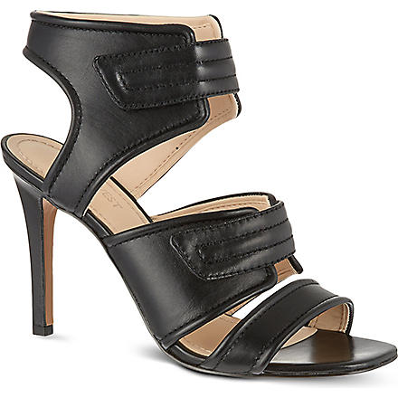 NINE WEST Kristilee leather sandals (Black