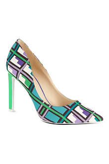 NINE WEST Tatiana printed court shoes