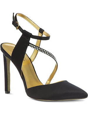 NINE WEST Tanessa satin sandals