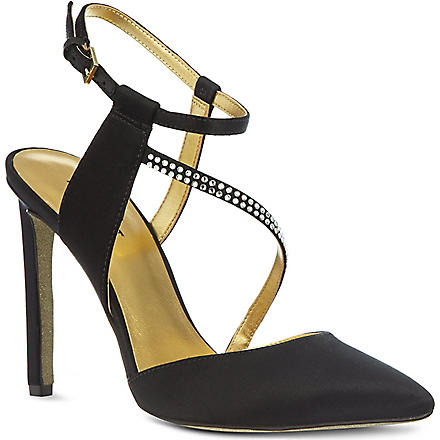 NINE WEST Tanessa satin sandals (Black