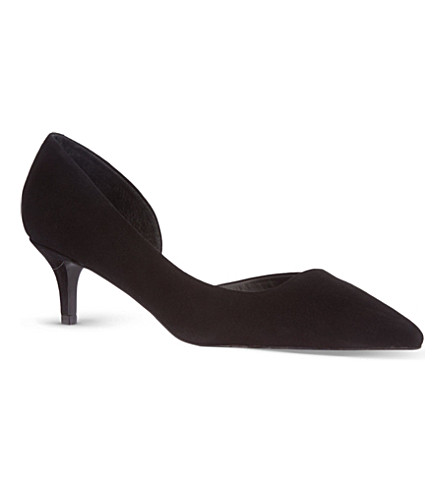 KG KURT GEIGER Cara court shoes (Black