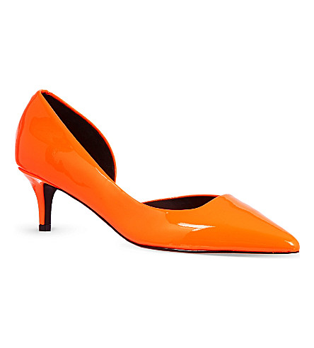 KG KURT GEIGER Cara court shoes (Orange