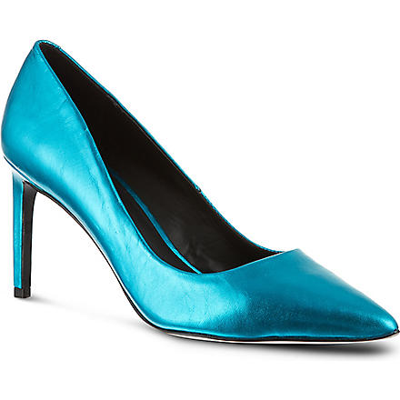 KG KURT GEIGER Bea court shoes (Turquoise