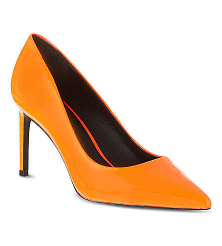 KG KURT GEIGER Bea court shoes (Orange