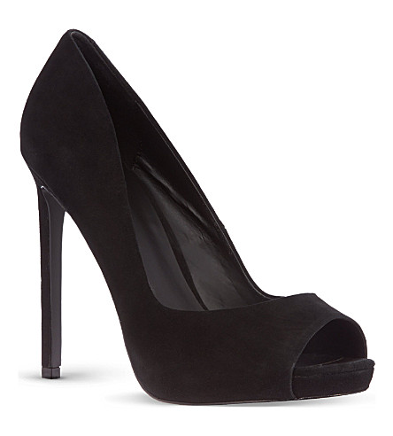 KG KURT GEIGER Eleri court shoes (Black